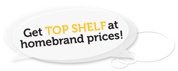 Get top shelf at homebrand prices, OBLIGATION FREE QUOTES : Get your Design, Web and Print project started with peace of mind